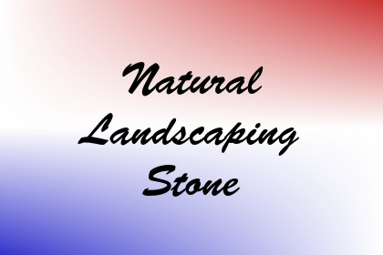 Natural Landscaping Stone Image