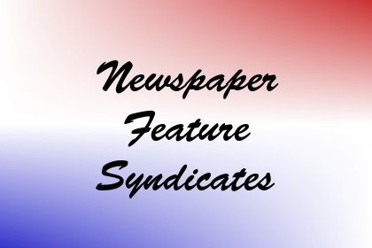 Newspaper Feature Syndicates Image