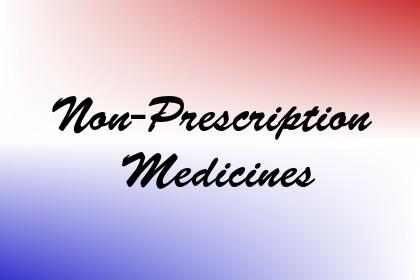 Non-Prescription Medicines Image