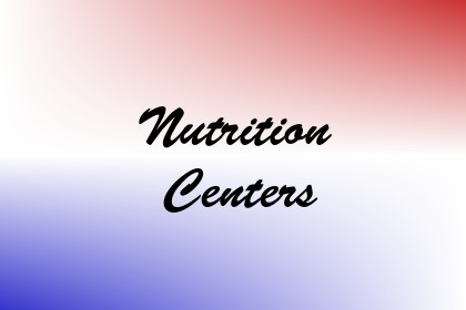 Nutrition Centers Image