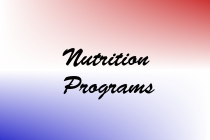 Nutrition Programs Image