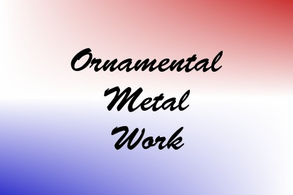 Ornamental Metal Work Image
