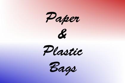 Paper & Plastic Bags Image