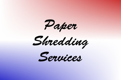 Paper Shredding Services Image