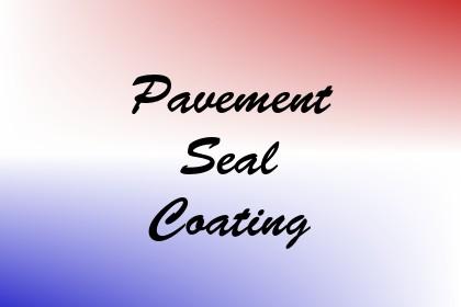 Pavement Seal Coating Image