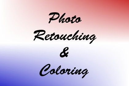 Photo Retouching & Coloring Image