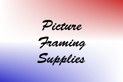Picture Framing Supplies Image