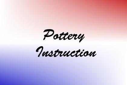 Pottery Instruction Image