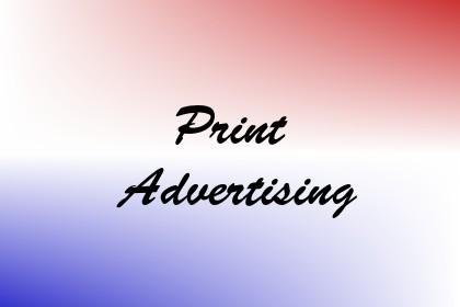 Print Advertising Image