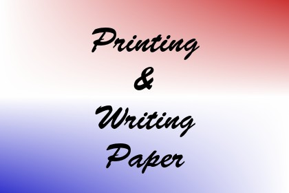 Printing & Writing Paper Image