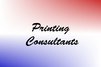 Printing Consultants Image
