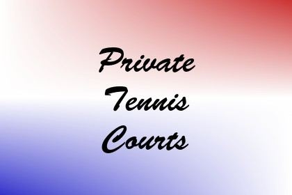 Private Tennis Courts Image