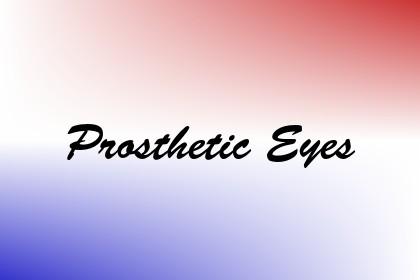 Prosthetic Eyes Image