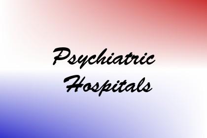 Psychiatric Hospitals Image