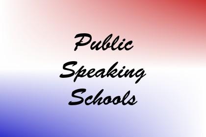Public Speaking Schools Image