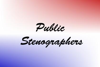 Public Stenographers Image