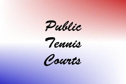 Public Tennis Courts Image
