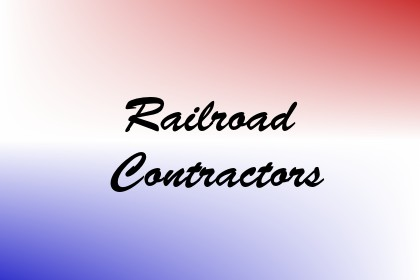 Railroad Contractors Image
