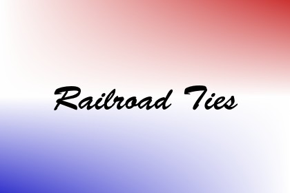 Railroad Ties Image