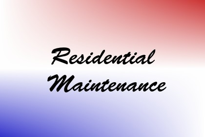 Residential Maintenance Image