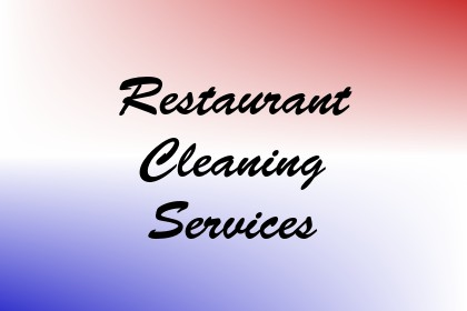 Restaurant Cleaning Services Image