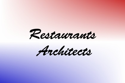 Restaurants Architects Image