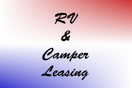 RV & Camper Leasing Image