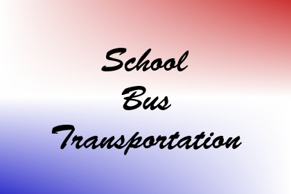 School Bus Transportation Image