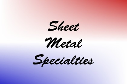 Sheet Metal Specialties Image
