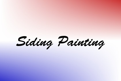 Siding Painting Image