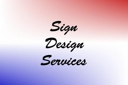 Sign Design Services Image