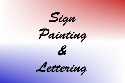 Sign Painting & Lettering Image