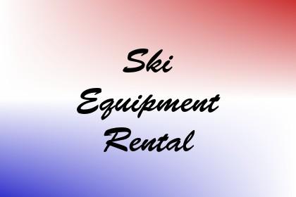 Ski Equipment Rental Image