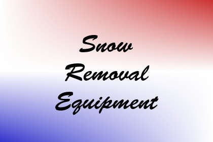 Snow Removal Equipment Image