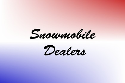 Snowmobile Dealers Image