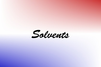 Solvents Image