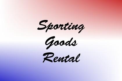 Sporting Goods Rental Image