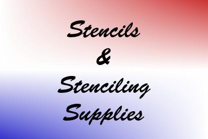 Stencils & Stenciling Supplies Image