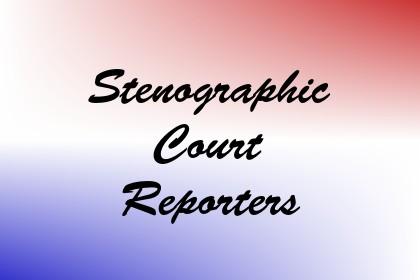 Stenographic Court Reporters Image