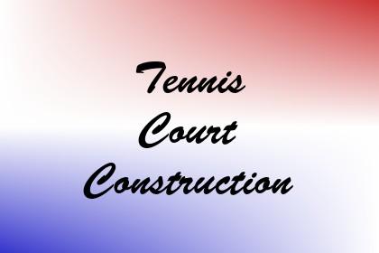 Tennis Court Construction Image
