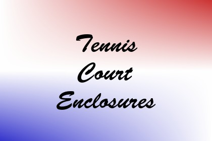 Tennis Court Enclosures Image