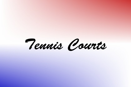 Tennis Courts Image