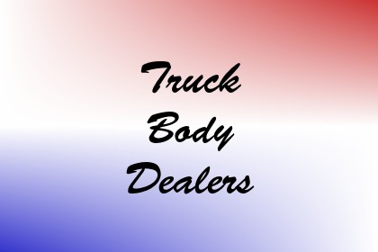 Truck Body Dealers Image
