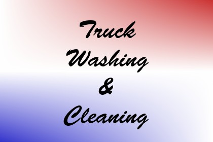 Truck Washing & Cleaning Image