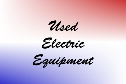 Used Electric Equipment Image