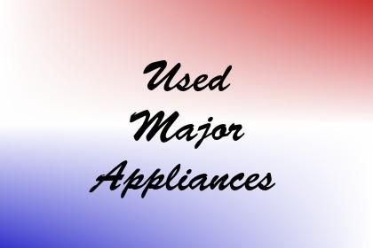 Used Major Appliances Image