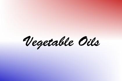 Vegetable Oils Image