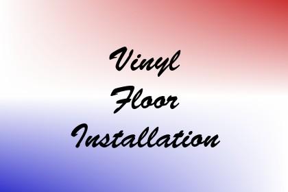 Vinyl Floor Installation Image