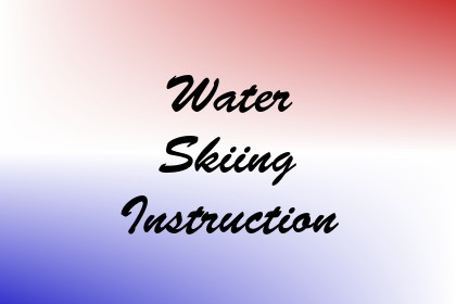 Water Skiing Instruction Image