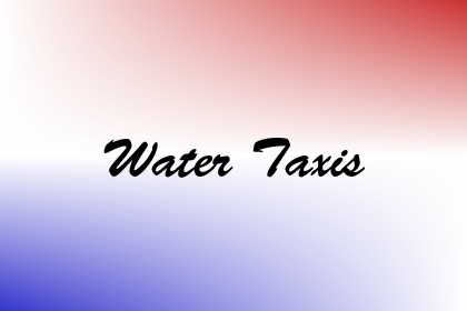 Water Taxis Image